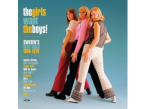VARIOUS ARTISTS - The Girls Want The Boys! Swedish Beat Girls 1966-1970 (LP)