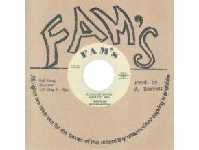 """ASHANTI WAH & FAMILY MAN - Elegant Shape / Elegant Dub (7"""" Vinyl)"""