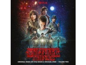 KYLE DIXON & MICHAEL STEIN - Stranger Things Season 1 / Vol. 2 (A Netflix Original Series Soundtrack) (LP)