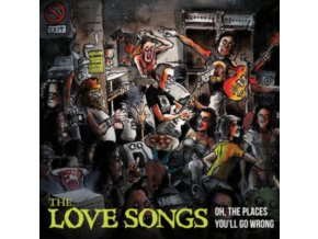 LOVE SONGS - Oh The Places YouLl Go Wrong (LP)
