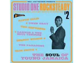 SOUL JAZZ RECORDS PRESENTS - Studio One Rocksteady 2: The Soul Of Young Jamaica - Rocksteady. Soul And Early Reggae At Studio One (LP)