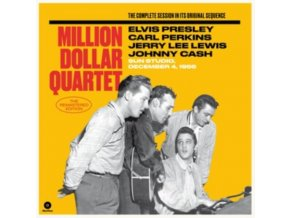 ELVIS PRESLEY / CARL PERKINS / JERRY LEE LEWIS / JOHNNY CASH - Million Dollar Quartet (The Complete Session On Its Original Sequence) (Deluxe Editoin) (LP)