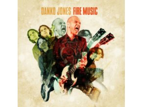 DANKO JONES - Fire Music (Limited Green Vinyl) (LP)