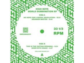 "HIGH BOYS - World Dumbination EP (12"" Vinyl)"