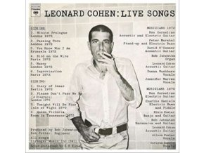 LEONARD COHEN - Live Songs (LP)