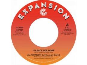 "AL JOHNSON - IM Back For More / IVe Got My Second Wind (7"" Vinyl)"