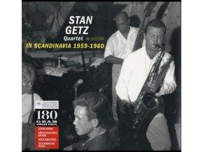 STAN GETZ - In Scandinavia 1959-1960 (LP)