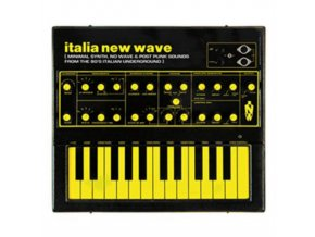 VARIOUS ARTISTS - Italia New Wave: Minimal Synth. No Wave. & Post Punk Sounds From The 80S Italian Underground (LP)