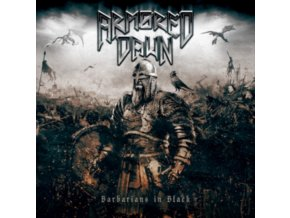ARMORED DAWN - Barbarians In Black (White Vinyl) (LP)