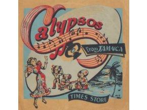 HUBERT PORTER & THE JAMAICAN CALYPSONIANS - Calypsos From Jamaica (LP)