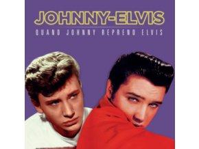 JOHNNY HALLYDAY / ELVIS PRESLEY - Johnny Reprend Elvis (RSD 2018 Red Vinyl) (LP)
