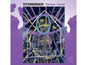 TUSMORKE - Fjernsyn I Farver (Black / Purple Splatter Vinyl) (LP)