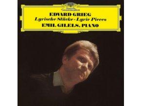 EMIL GILELS - Grieg/Lyric Pieces (LP)