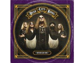 DEAD CITY RUINS - Never Say Die (Purple Vinyl) (LP)