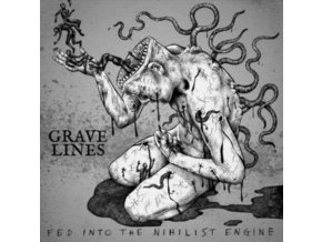 GRAVE LINES - Fed Into The Nihilist Engine (LP)
