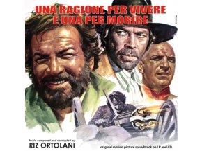 RIZ ORTOLANI - Una Ragione Per Vivere E Una Per Morire (LP + CD)