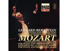 LEONARD BERNSTEIN - Mozart – Piano Concerto 15 &17 (LP)