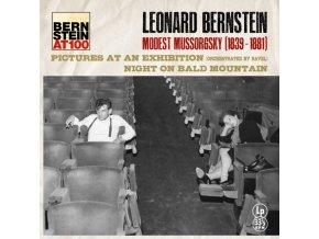 LEONARD BERNSTEIN - Mussorgsky - Pictures at an exhibition (Ravel Transcription) (LP)