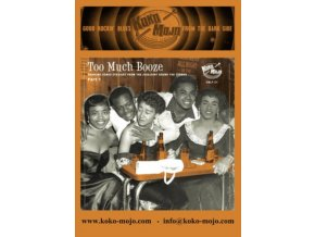 "VARIOUS ARTISTS - Too Much Booze (10"" Vinyl)"