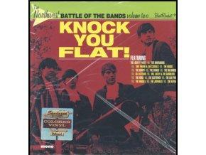 VARIOUS ARTISTS - Northwest Battle Of The Bands Vol. 2: Knock You Flat! (Green Vinyl) (LP)