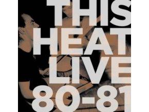 THIS HEAT - Live 80-81 (LP)