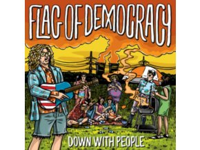 FLAG OF DEMOCRACY (FOD) - Down With People (LP)
