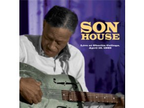 SON HOUSE - Live At Oberlin College. April 15. 1965 (LP)