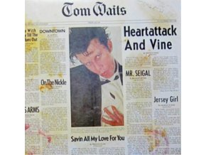 TOM WAITS - Heartattack And Vine (Remastered Edition) (LP)
