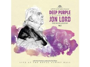 JON LORD - Deep Purple Celebrating Jon Lord: The Rock Legend Vol. 2 (Limited Edition) (LP)