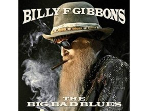 BILLY GIBBONS - The Big Bad Blues (Transparent Blue) (LP)