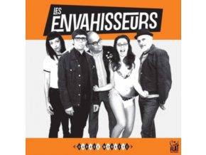 LES ENVAHISSEURS - Garage Monkeys (LP)