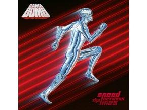 GAMA BOMB - Speed Between The Lines (Turquoise Vinyl) (LP)