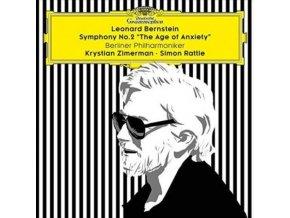 BP/ZIMERMAN - Bernstein/Symphony No 2 (LP)