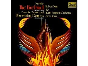 ATLANTA SYMPHONY ORCHESTRA AND CHORUS & ROBERT SHAW - Stravinsky: Firebird Suite & Borodin: Polovtsian Dances (LP)