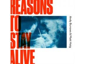 ANDY BURROWS & MATT HAIG - Reasons To Stay Alive (LP)