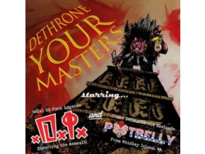 "D.I. / POTBELLY - Dethrone Your Masters (7"" Vinyl)"