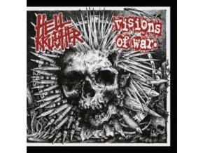 """VISIONS OF WAR / HELLKRUSHER - Split (7"""" Vinyl)"""