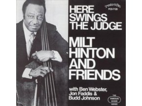 MILT HINTON - Here Swings The Judge (LP)