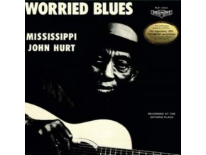 MISSISSIPPI JOHN HURT - Worried Blues (LP)