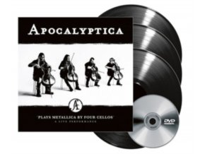 APOCALYPTICA - Plays Metallica - A Live Performance (LP + DVD)