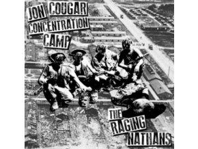 """JON COUGAR CONCENTRATION CAMP / RAGING NATHANS - Split (7"""" Vinyl)"""