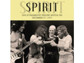 SPIRIT - Live At Paramount Theatre. Seattle. Wa. December 31St. 1971 (LP)