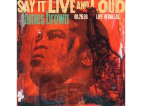 JAMES BROWN - Say It Live And Loud (LP)