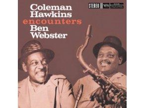 COLEMAN HAWKINS & BEN WEBSTER - Coleman Hawkins Encounters Ben Webster (LP)