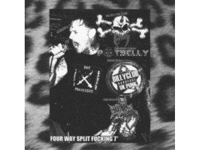 "VARIOUS ARTISTS - Four Way Split Fucking (7"" Vinyl)"