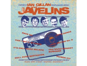 IAN GILLAN - Raving With Ian Gillan & The Javelins (LP)