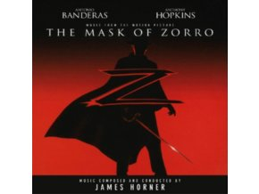 JAMES HORNE - The Mask Of Zorro - OST (Red Vinyl) (LP)