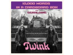 "TWINK - 10.000 Words In A Cardboard Box (7"" Vinyl)"