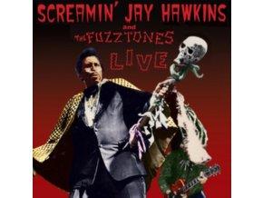 "SCREAMIN JAY HAWKINS & THE FUZZTONES - Live (12"" Vinyl)"