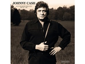 JOHNNY CASH - Live At Belmond Park In NYC May 23Rd. 1981 (LP)
